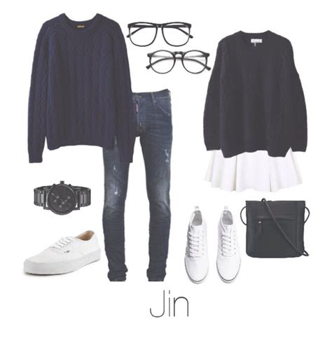 BTS Jin/Seokjin Couple outfit | BTS outfits | Pinterest | BTS and Couples