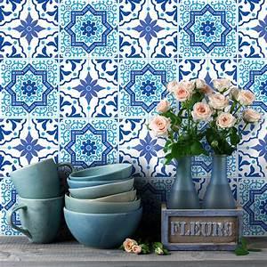 Stickers Carreaux De Ciment Cuisine : 9 stickers carreaux de ciment azulejos juan pablo ~ Melissatoandfro.com Idées de Décoration