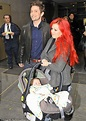 Twilight star Jackson Rathbone lets petite partner carry their exhausted baby in New York ...