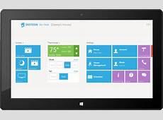 INSTEON for Hub Windows 81 app Home Dashboard