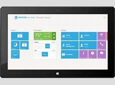 INSTEON for Hub Windows 81 app Home Dashboard UI