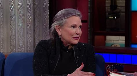 Carrie Fisher's Weight Loss In 'star Wars'