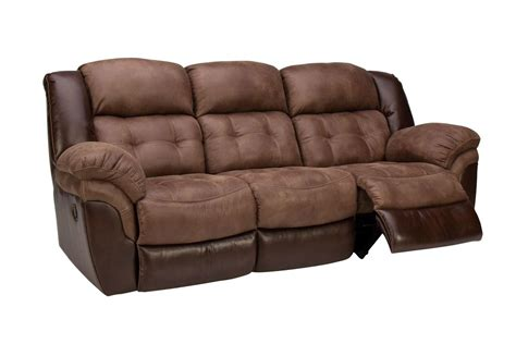 Reclining Sectional Sofas Microfiber by Fenway Microfiber Reclining Sofa At Gardner White