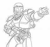 Clone Coloring Trooper Wars Pages Star Commando Republic Drawing Colouring Arc Sheet Army Template Squad Delta Cody Coloringpagesfortoddlers Lovers Grand sketch template