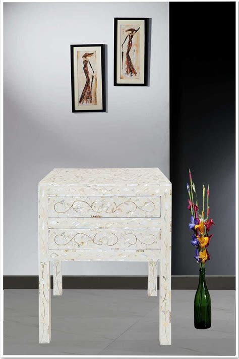 shop  ivory mother  pearl inlay  drawer side