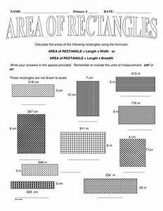 Ks2 Area Of Rectangles By Jinkydabon