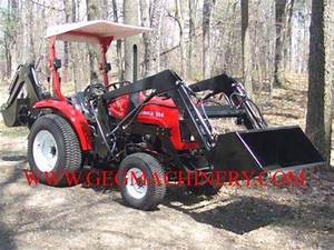 Jinma 354 Tractor With Backhoe And Front End Loader Id