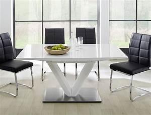 Tisch Weiß Hochglanz Ausziehbar : esstisch ausziehbar hochglanz weiss s ulentisch 160 220 x90cm eckbanktisch vasco ebay ~ Buech-reservation.com Haus und Dekorationen