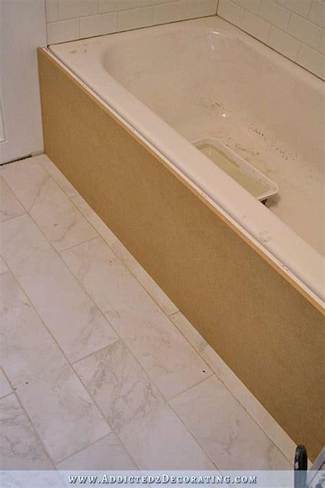 tub panels diy tub skirt decorative panel for a standard soaking tub