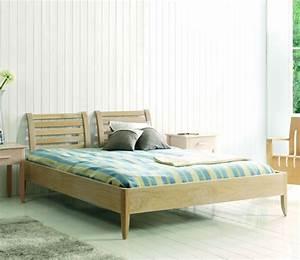 Lit Bois Massif Design : lit adulte en bois massif brin d 39 ouest ~ Teatrodelosmanantiales.com Idées de Décoration