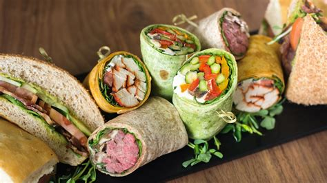 cuisine wrap a fresh idea in catering gourment cuisine