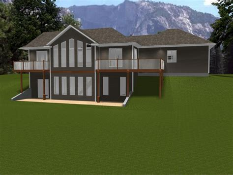 house plans with walk out basements ranch house plans with walkout basement ranch house plans