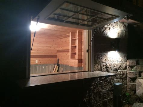 granite bar  flip  boat house window boathouse