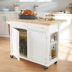 simple kitchen islands our new kitchen cart i 39 m in real simple kitchen
