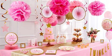 Pink Twinkle Twinkle Little Star Gender-reveal Baby Shower