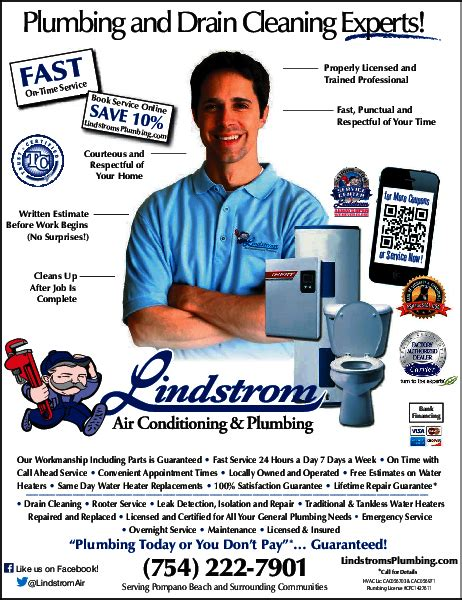 Lindstrom Air Conditioning & Plumbing Coral Springs, Fl