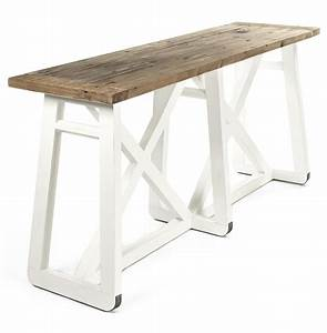 mirabel coastal beach rustic white reclaimed wood x base With white coastal coffee table