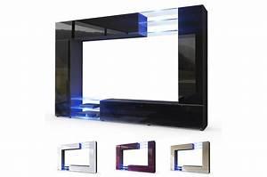 Meuble Tv Au Mur : meuble tv mural design 12 finitions moderne au choix pour meuble tv mural ~ Teatrodelosmanantiales.com Idées de Décoration