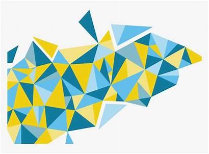 Geometric Vector Background Graphics Shapes Transparent Kindpng