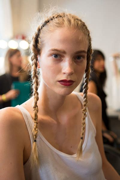 The Most Beautiful Hair by The Boldest And Most Beautiful Hair At Nyfw 2017
