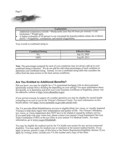 va disability letter va disability claims discussion forum