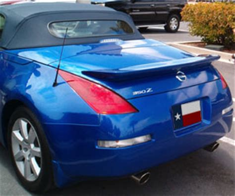 nissan  roadster aggressive rear wing