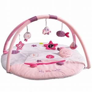 tess tapis d39eveil rose de sauthon baby deco tapis d With tapis d eveil enfant
