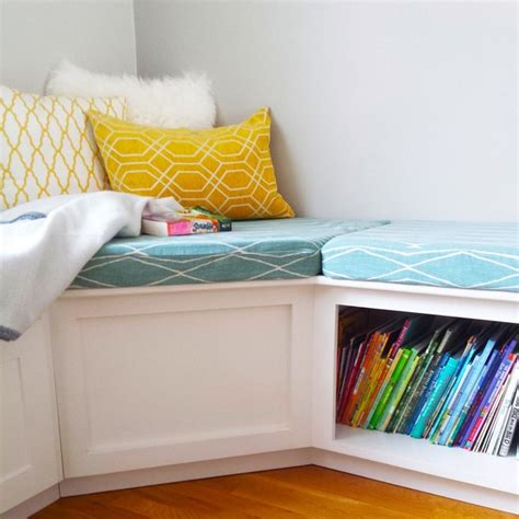 l shaped storage bench l shaped corner bench with storage contemporary kids boston by cushion source