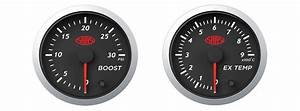 Saas Streetline Series Diesel Egt  U0026 Boost 30 Psi 52mm