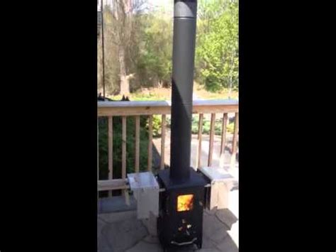 wood pellet patio heater