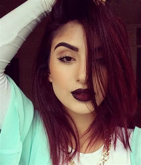 colored haircuts 25 best ideas about burgundy hair on 4705