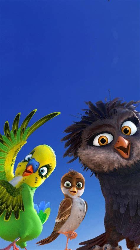 wallpaper richard  stork birds  animation movies