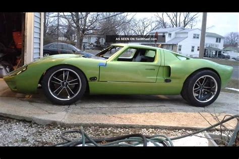 ford gt  replica youtube