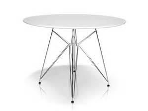 designer tisch rund rolly tisch rund 105 cm weiß