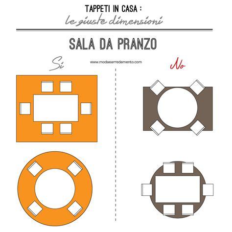 Dimensioni Sala Da Pranzo by Scegliere La Dimensione Tappeto Salotto E