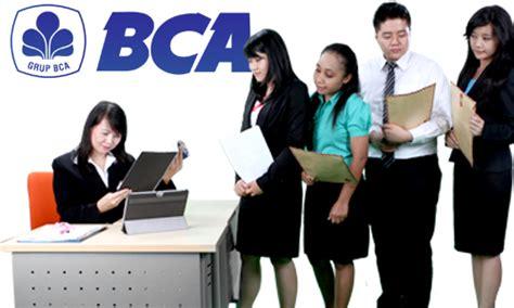 informasi lowongan kerja bank bca  auditor cikerja