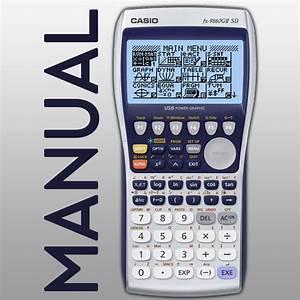 Amazon Com  Casio Graphing Calculator Manual Fx