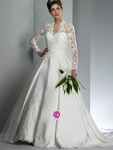 wedding trend ideas lace long sleeve wedding dress With long lace wedding dress