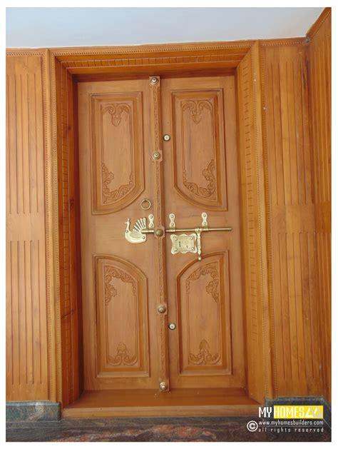 idea  homes main door designs  kerala india