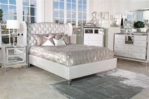 Aico Hollywood Loft Bedroom Set Collection With