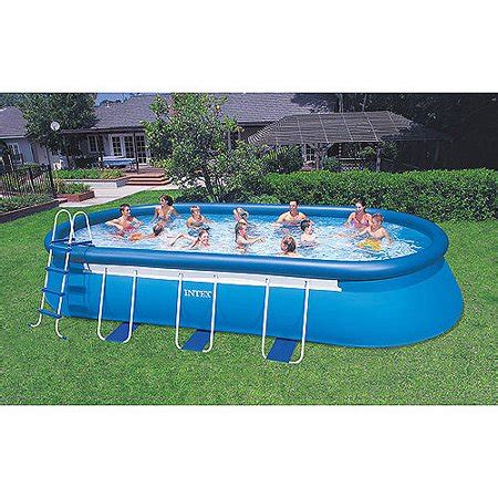 intex      oval frame easy set swimming pool
