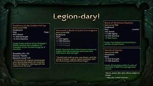 Wow Gegenstände Aufwerten : wow legion itemlevel von legendaries wird angehoben mein ~ Orissabook.com Haus und Dekorationen