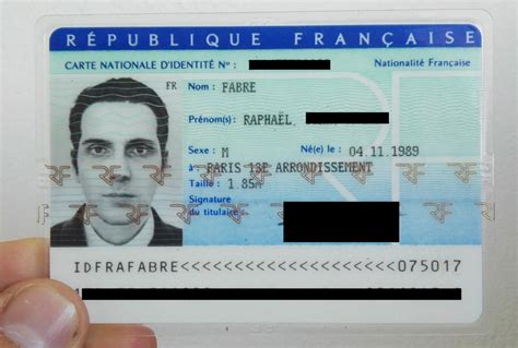 Using A 3d Render As A French Id Card 'photo