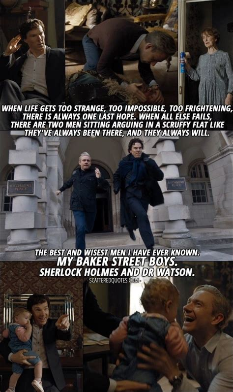 sherlock quotes mary final problem street baker holmes watson 4x03 john bbc boys dr benedict doctor know quote together strange