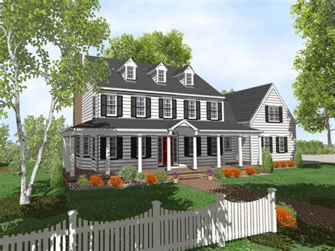 2 colonial house plans 2 colonial style house plans two colonial