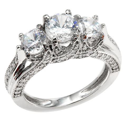 3 Stone Engagement Rings  7  Wedding, Promise, Diamond