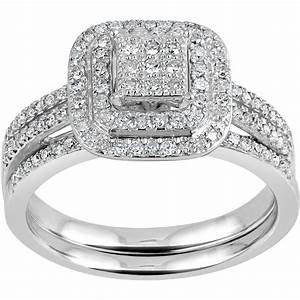 forever bride 1 3 carat tw diamond 10kt yellow gold With forever wedding rings