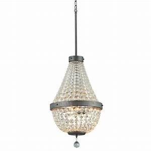 Lowes chandelier light covers : Portfolio breely in light antique silver