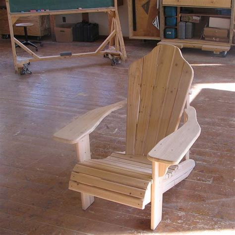 adirondack chair building   north