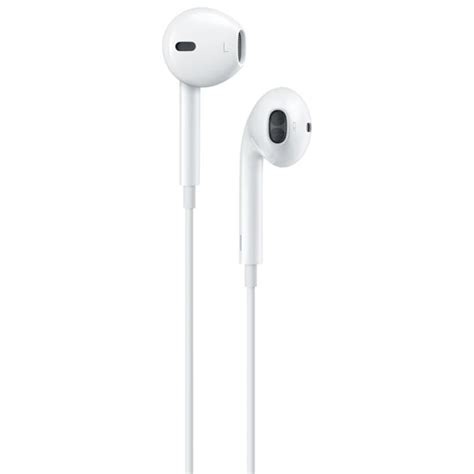 apple earpods in ear headphones with lightning connector white wired cellular headsets